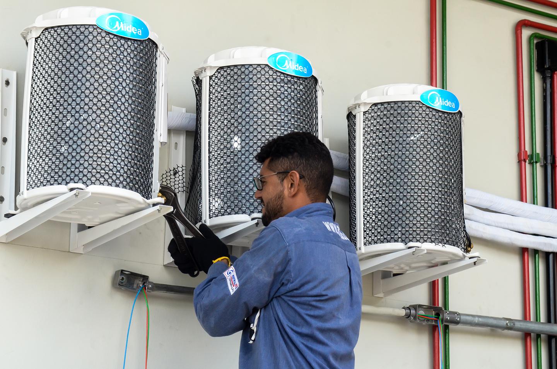 Loja Aparelho Ar Condicionado Split Self Cassete Compressor Evaporador
